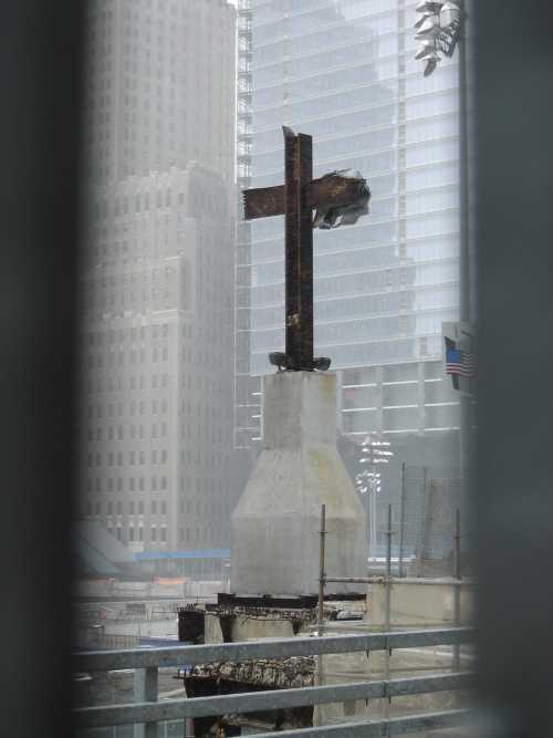 A cross!?
